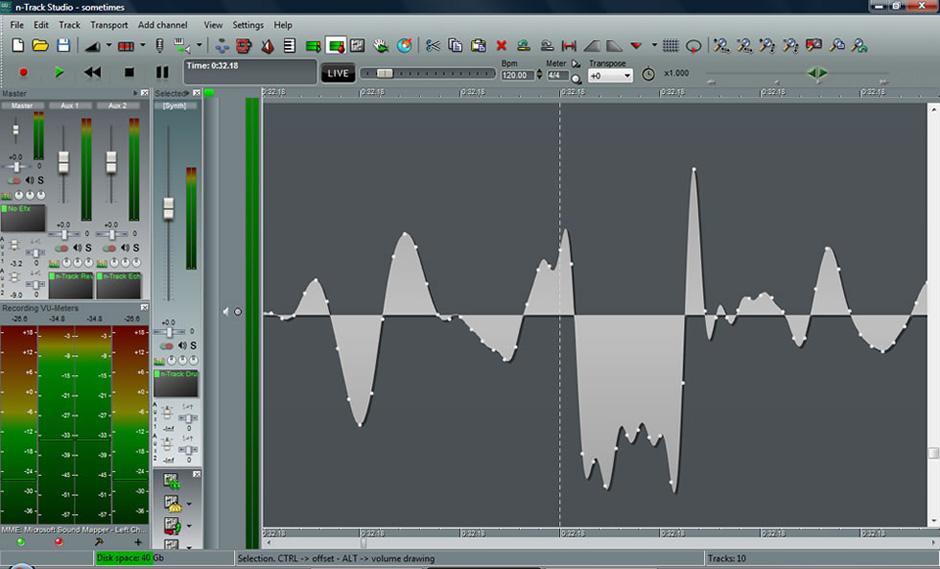 برنامج الاستوديو الكامل لتسجيل الاغاني