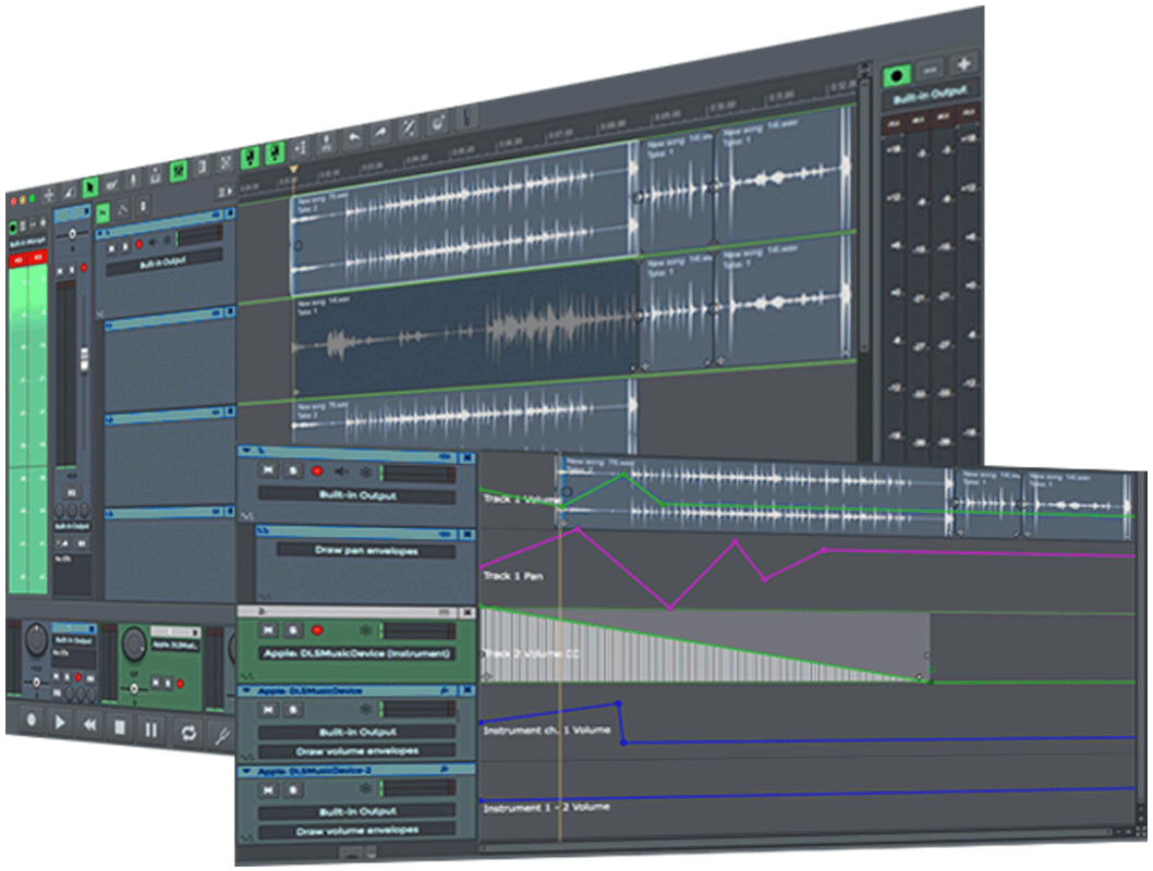 Multitrack Recording Software & Digital Audio Workstation ...