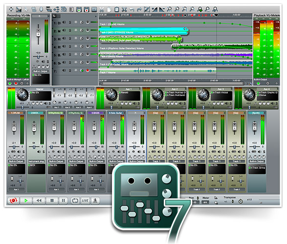 n-Track Studio 7 screenshot