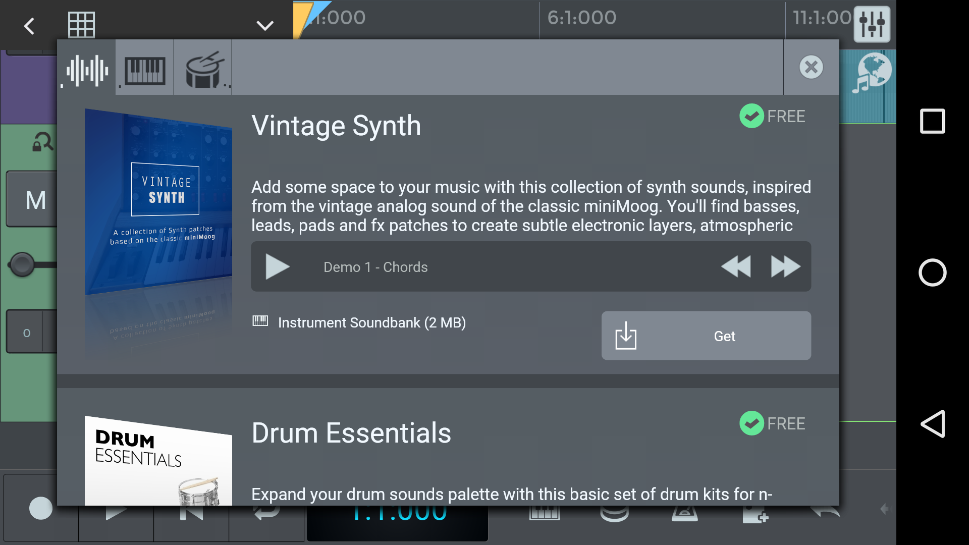 n-Track Studio for Android User Guide | n-Track Studio