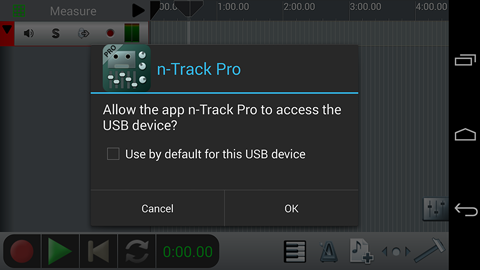Android USB permission