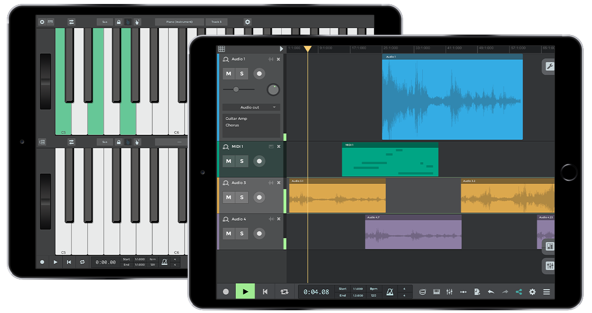 Download n-Track Studio | Audio recording and music creation