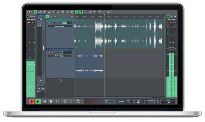 n-Track Studio 9 for Mac
