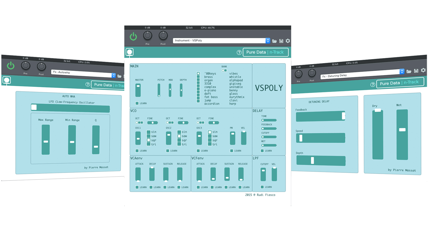 n-Track Studio 8 Pure Data Support