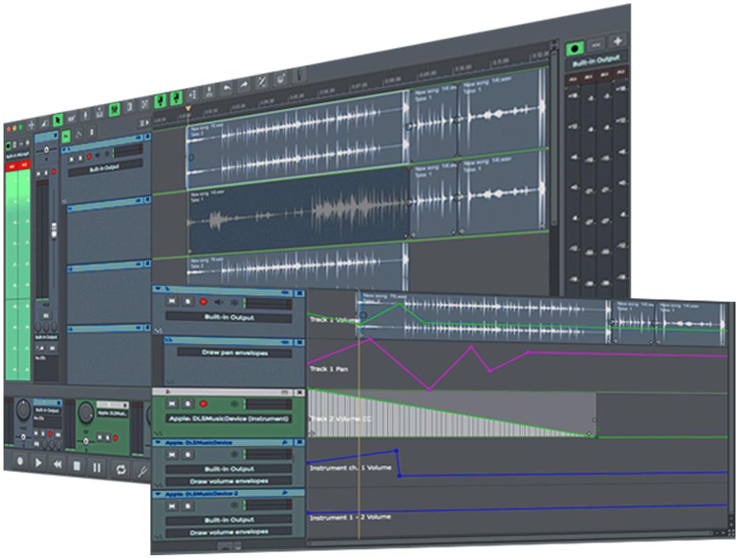 n-Track Studio 8 Recording
