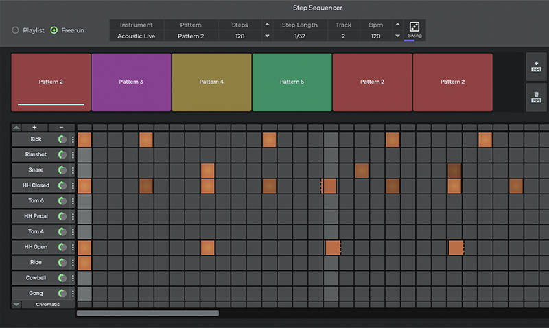 n-Track Studio 8 Step Sequencer