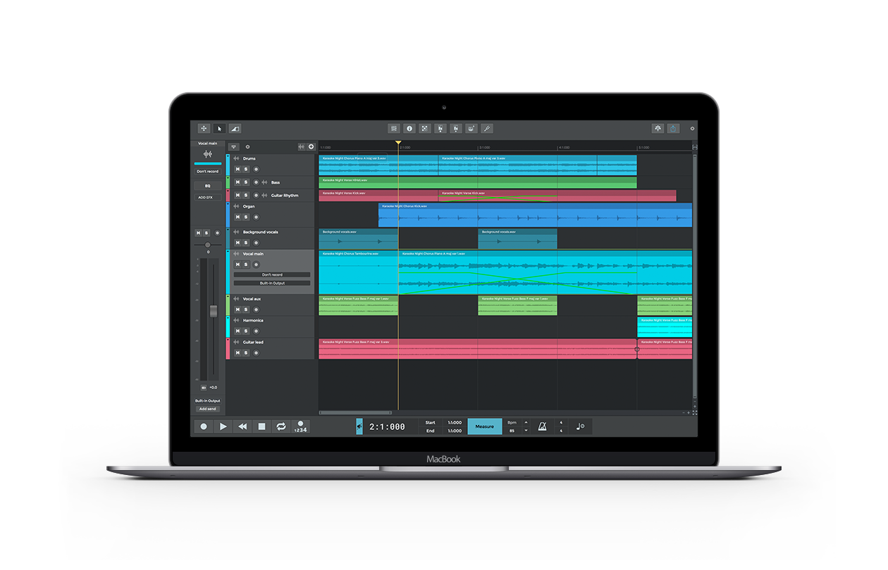 Click to view n-Track Studio 9.0.0 screenshot