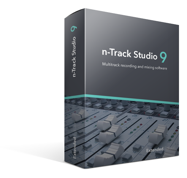 n-Track Studio Extended Edition - for Windows and Mac